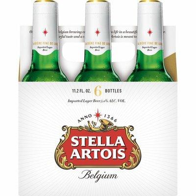 Stella Artois Lager Beer Bottles