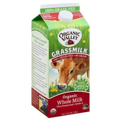 Organic Valley Grassmilk Organic Whole Milk