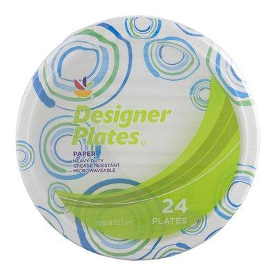 SB Designer Paper Plates - 24 CT
