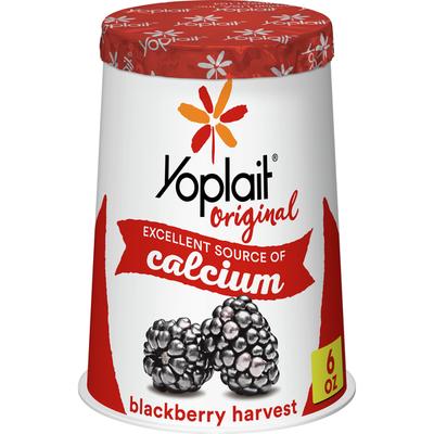 Yoplait Original Yogurt, Low Fat Yogurt, Blackberry Harvest