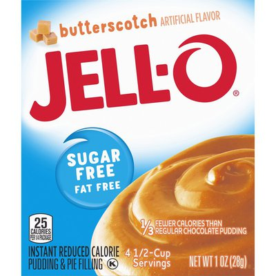 Jell-O Butterscotch Sugar Free & Fat Free Instant Pudding & Pie Filling Mix