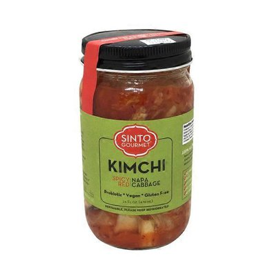 Sinto Gourmet Spicy Red Napa Cabbage Kimchi