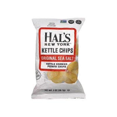 Hal's New York Seltzer Sea Salt Kettle Chips