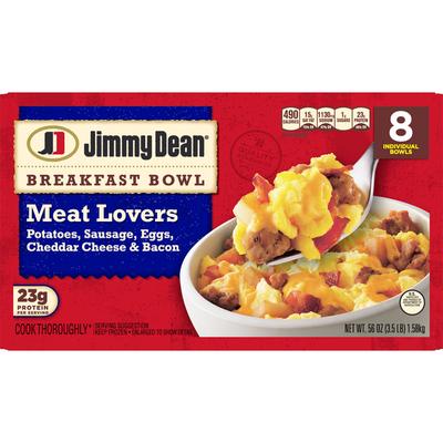 Jimmy Dean Breakfast Bowl, Meat Lovers