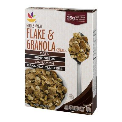 Ahold Flake & Granola Cereal Whole Wheat