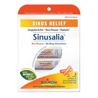 Boiron Sinusalia Sinus Relief Quick-Dissolving Pellets - 2 Tubes