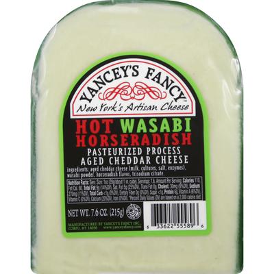 Yancey's Fancy Cheese, Hot Wasabi Horseradish