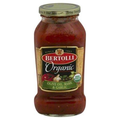 Bertolli Organic Olive Oil, Basil & Garlic Sauce