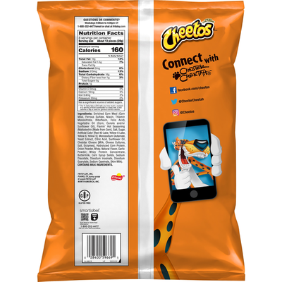 CHEETOS Hot Puffs Cheese Flavored Snacks