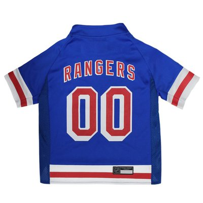 Pets First Large NHL New York Rangers Jersey for Dogs & Cats