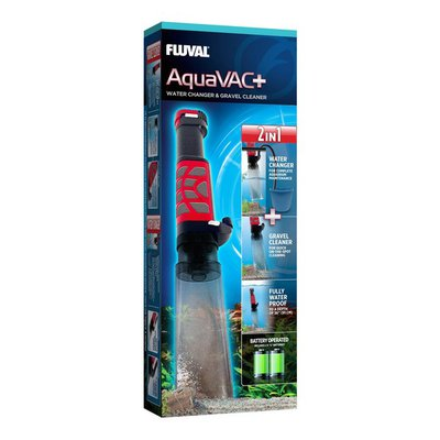 Fluval Aquavac+ Water Changer & Gravel Cleaner