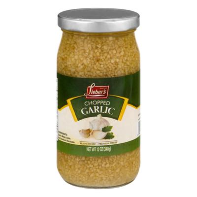 Lieber's Chopped Garlic