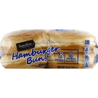 Signature Select Hamburger Buns