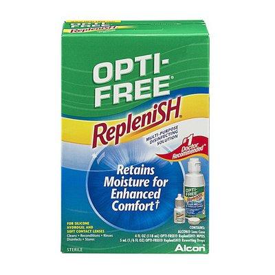 OPTI-FREE RepleniSH Multi-Purpose Disinfecting Contact Solution Kit - 3 CT