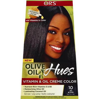 Ors Vitamin & Oil Creme Color, Jet Black 10