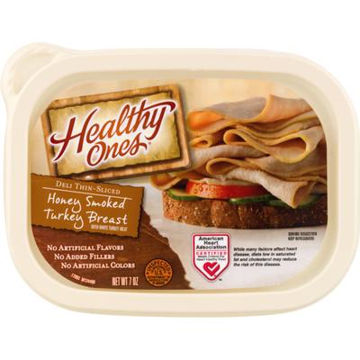 Healthy Ones Deli Thin-Sliced Honey Smoked Turkey Breast