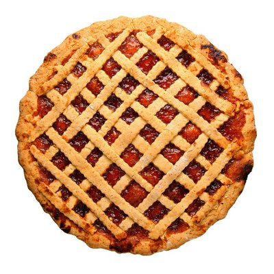 """8"""" Strawberry Rhubarb Pie"""