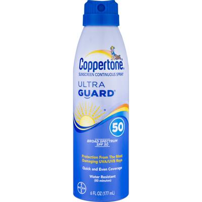 Coppertone Sunscreen Ultra Guard 50 SPF