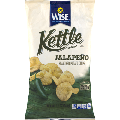 Wise Kettle Cooked Jalapeno Potato Chips
