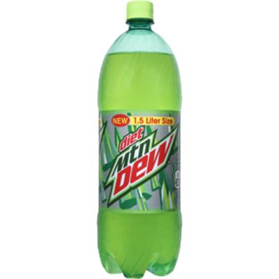 Pepsi Diet Mtn Dew 1.5 L