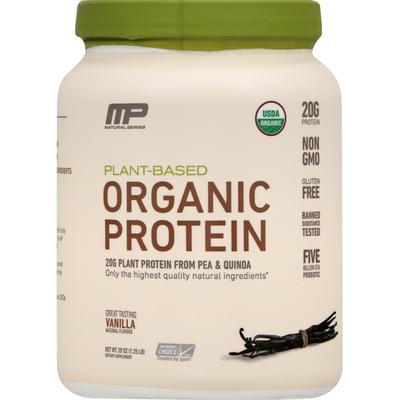 MP Natural Series Protein, Organic, Great Tasting Vanilla