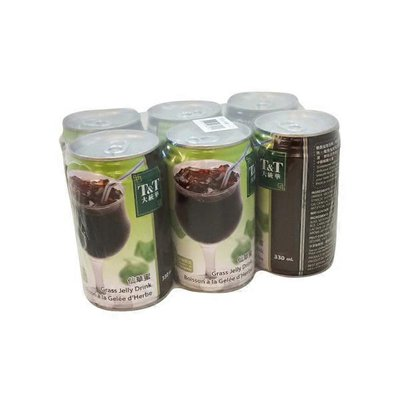 T&T Grass Jelly Drink