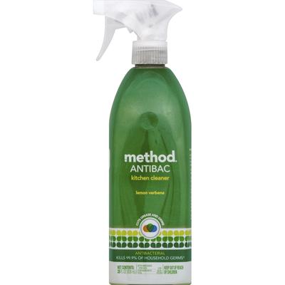 Method Kitchen Cleaner Antibacterial Lemon Verbena 28 Oz Instacart