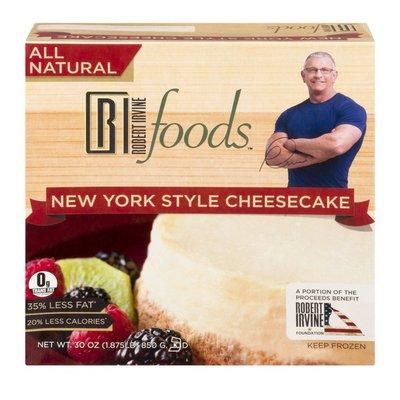 Robert Irvine Foods New York Style Cheesecake