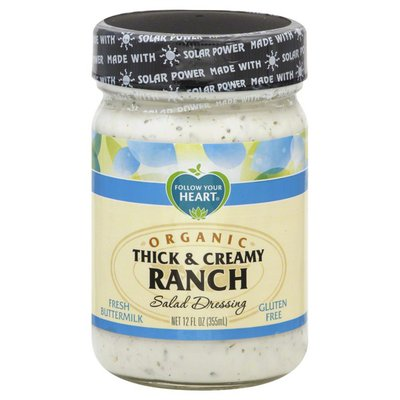 Follow Your Heart Salad Dressing, Organic, Thick & Creamy Ranch