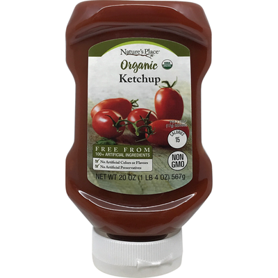 Nature's Place Organic Ketchup