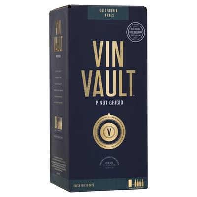 Vin Vault Pinot Grigio White Box Wine