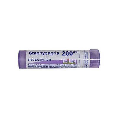 Boiron Staphysagria Homeopathic Medicine for Surgical Wounds
