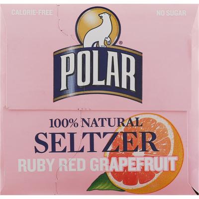 Polar Seltzer, Ruby Red Grapefruit