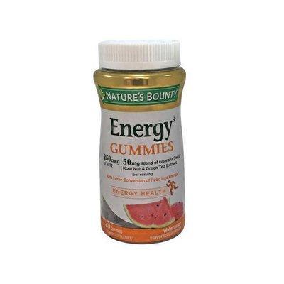 Nature's Bounty Energy* Gummies Dietary Supplement