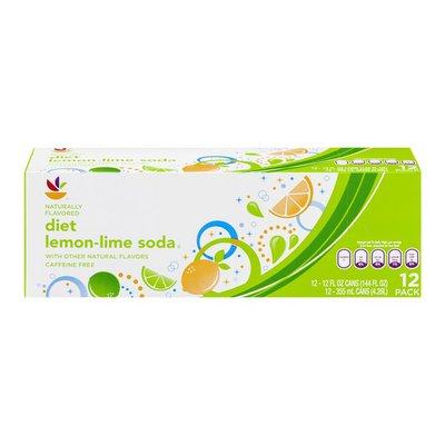 SB Diet Lemon-Lime Soda - 12 CT