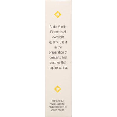 Badia Vanilla, Pure Extract