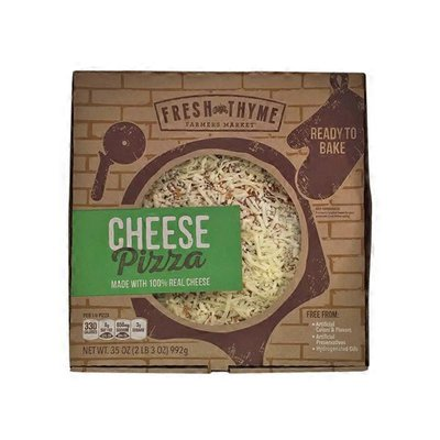 Fresh Thyme Pizza