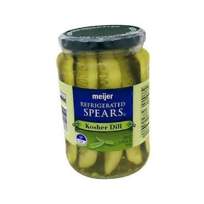 Meijer Kosher Dill REFRIGERATED SPEARS