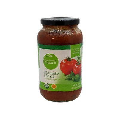 Simple Truth Organic Tomato Basil Sauce
