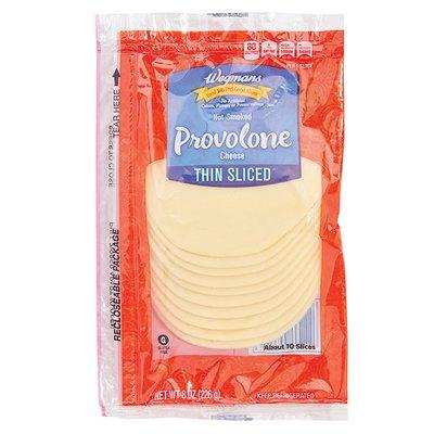 Wegmans Thin Sliced Provolone Cheese