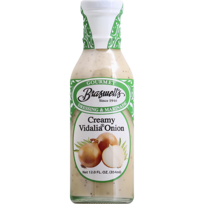 Braswell's Dressing & Marinade, Creamy Vidalia Onion
