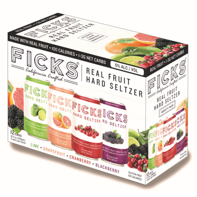 Ficks Hard Seltzer Variety Pack