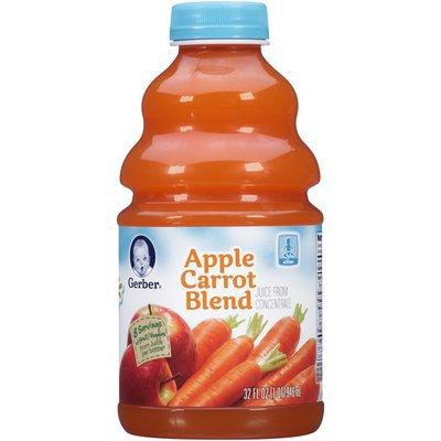 Gerber Apple Carrot Blend Juice Fruit