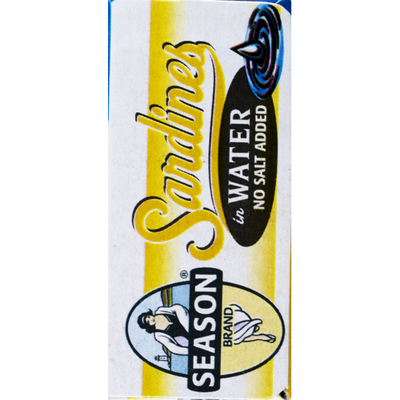 Season Brand Sardines, Imported, in Water