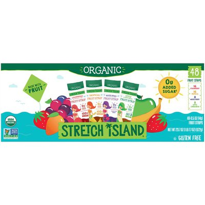 Stretch Island Organic Fruit Strips Variety Pack