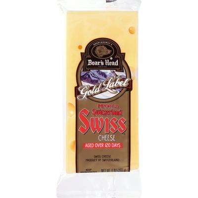Boar's Head Imported Switzerland Swiss