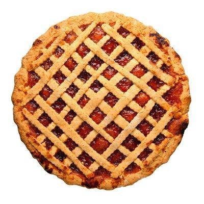 "Table Talk 4"" Strawberry Pie"