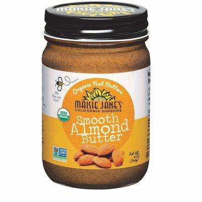Maisie Jane's Organic Almond Butter, Smooth