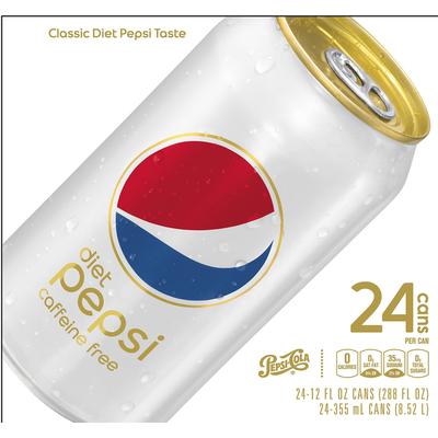 Pepsi Diet Caffeine Free Cola Soda