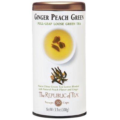 The Republic of Tea Ginger Peach Green Loose Leaf Tea